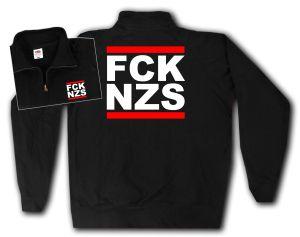 Sweat-Jacket: FCK NZS