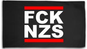 Fahne / Flagge (ca. 150x100cm): FCK NZS