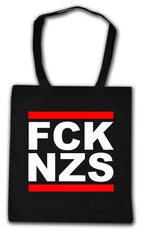 Baumwoll-Tragetasche: FCK NZS