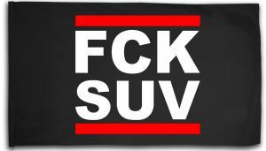 Fahne / Flagge (ca. 150x100cm): FCK SUV