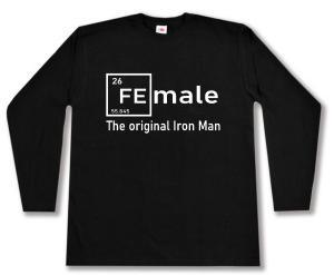 Longsleeve: Female - weiß