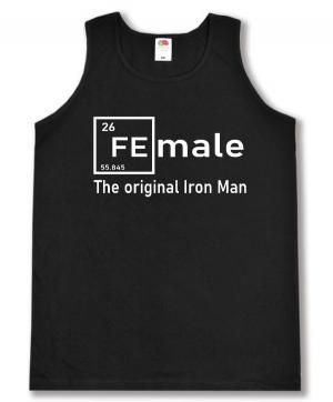 Tanktop: Female - weiß