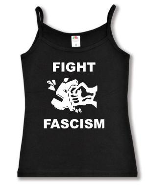 Trägershirt: Fight Fascism