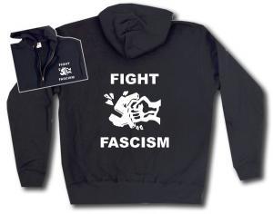 Kapuzen-Jacke: Fight Fascism