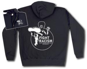 Kapuzen-Jacke: Fight Racism - Collectivo Sottocultura Antifascista