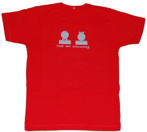 T-Shirt: Finde den Unterschied
