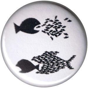 37mm Magnet-Button: Fische