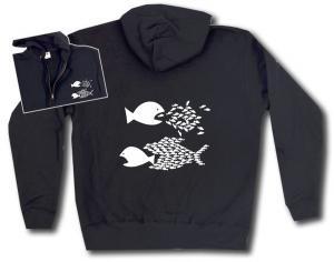 Kapuzen-Jacke: Fische