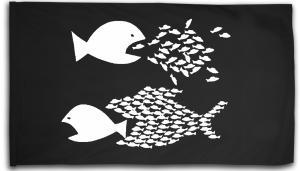 Fahne / Flagge (ca. 150x100cm): Fische