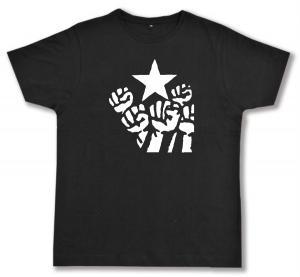 Fairtrade T-Shirt: Fist and Star