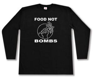 Longsleeve: Food Not Bombs