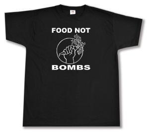 T-Shirt: Food Not Bombs
