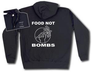 Kapuzen-Jacke: Food Not Bombs