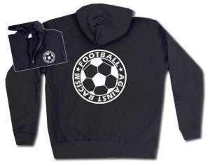 Kapuzen-Jacke: Football against racism