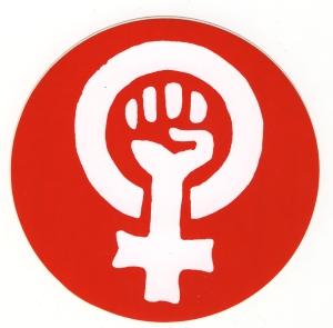 Aufkleber: Frauenzeichen