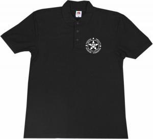 Polo-Shirt: Freedom - Equality - Anarcho - Communism