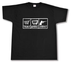 T-Shirt: Freiheit - Wahrheit - Sicherheit