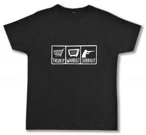 Fairtrade T-Shirt: Freiheit - Wahrheit - Sicherheit