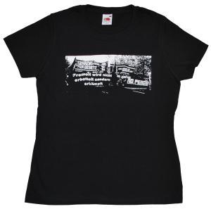 Girlie-Shirt: Freiheit wird nicht erbettelt