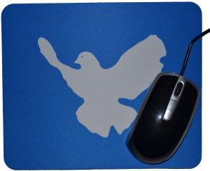 Mousepad: Friedenstaube