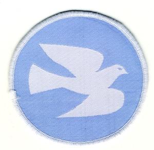 Aufnäher: Friedenstaube