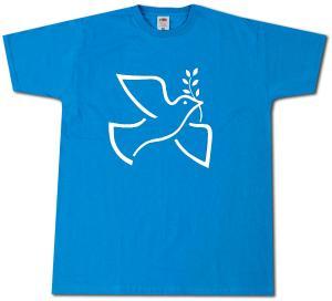 T-Shirt: Friedenstaube mit Zweig