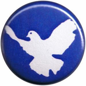 50mm Magnet-Button: Friedenstaube