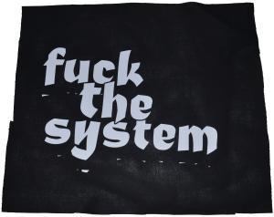 Rückenaufnäher: Fuck the System