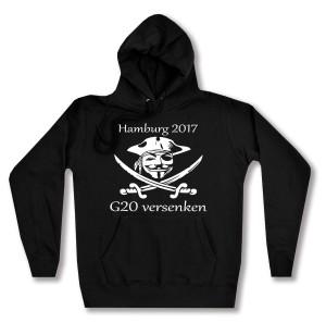 taillierter Kapuzen-Pullover: G20 versenken