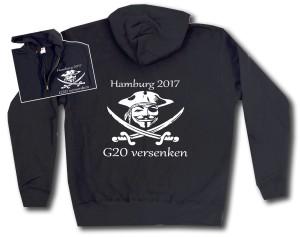 Kapuzen-Jacke: G20 versenken