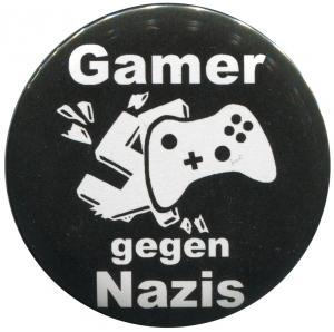 25mm Button: Gamer gegen Nazis
