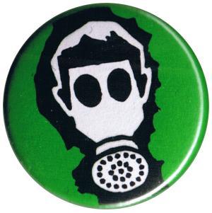 37mm Magnet-Button: Gasmaske