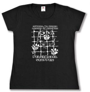 Girlie-Shirt: Geboren, um keinen Winter zu erleben - Pelzhandel stoppen
