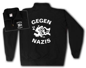 Sweat-Jacket: Gegen Nazis