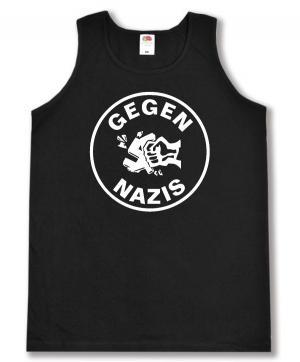 Tanktop: Gegen Nazis (rund)