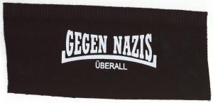 Aufnäher: Gegen Nazis Überall