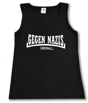 tailliertes Tanktop: Gegen Nazis Überall