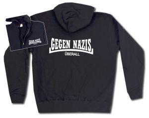 Kapuzen-Jacke: Gegen Nazis Überall