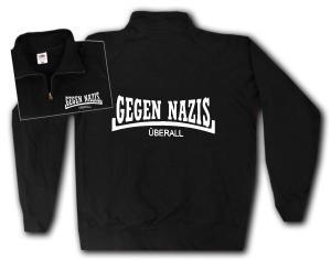 Sweat-Jacket: Gegen Nazis Überall