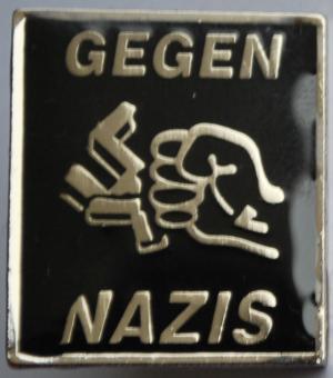 Anstecker / Pin: Gegen Nazis