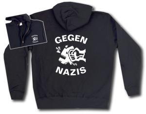 Kapuzen-Jacke: Gegen Nazis