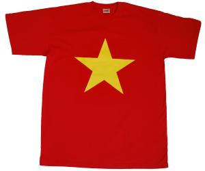 T-Shirt: Gelber Stern