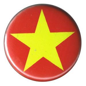 37mm Button: Gelber Stern
