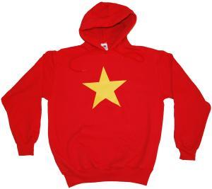 Kapuzen-Pullover: Gelber Stern