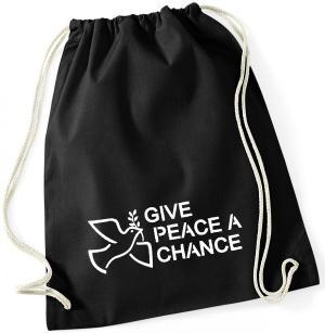 Sportbeutel: Give Peace A Chance