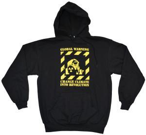 Kapuzen-Pullover: Global Warming