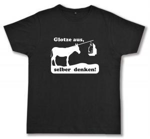 Fairtrade T-Shirt: Glotze aus, selber denken!
