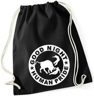 Sportbeutel: Good night human pride