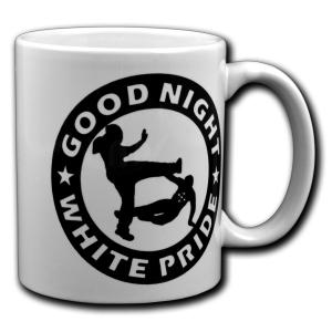 Tasse: Good night white pride