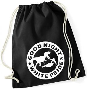 Sportbeutel: Good night white pride - Dinosaurier